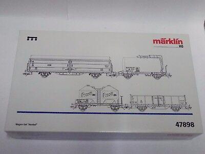 Märklin HO  47898  Leerverpackung von  Wagen-Set  HENKEL   (LP01)