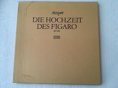 E HOCHZEIT DES FIGARO 3 LP-ALBUM  (Die Hochzeit Album)