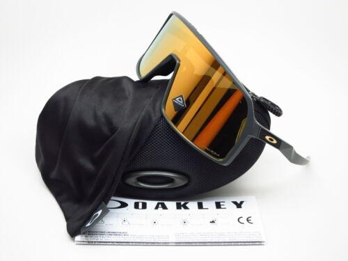 Oakley Sutro OO9406-0537 Matte Carbon w/Prizm 24K Sunglasses