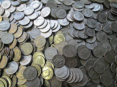 Lot Of 100 Kennedy Half Dollars - - Different Dates & Mint Marks - L@@K