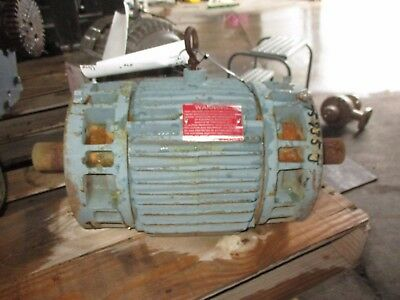 Reliance 1.5 Hp Double Shaft Motor 75935j Rpm1755 Used