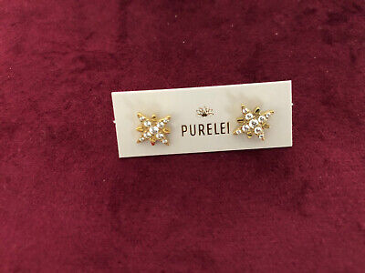 PURELEI Ohrstecker Starlight Gold aus Adventskalender 2020 NEU Sterne Glitzer