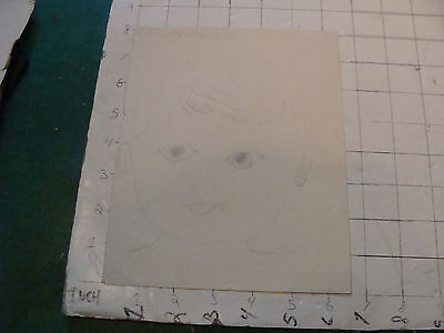 original MEIJER art: baby SIGNED and dated 1933