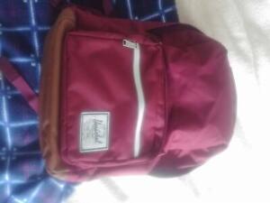 Herschel Pop Quiz Backpack - Red/Maroon AS NEW