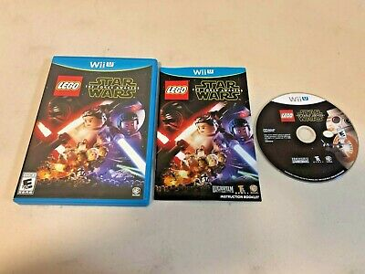 LEGO Star Wars: The Force Awakens (Nintendo Wii U, 2016) - COMPLETE (TESTED)