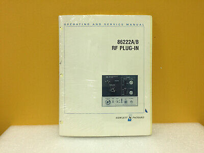 Hp Agilent 86222-90009 86222ab Operating Service Manual. New