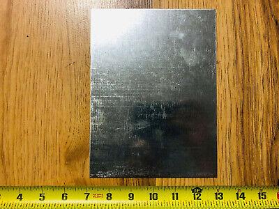18 Gauge Galvanized Steel Sheet Metal Scrap 5 Pieces 8 X 6