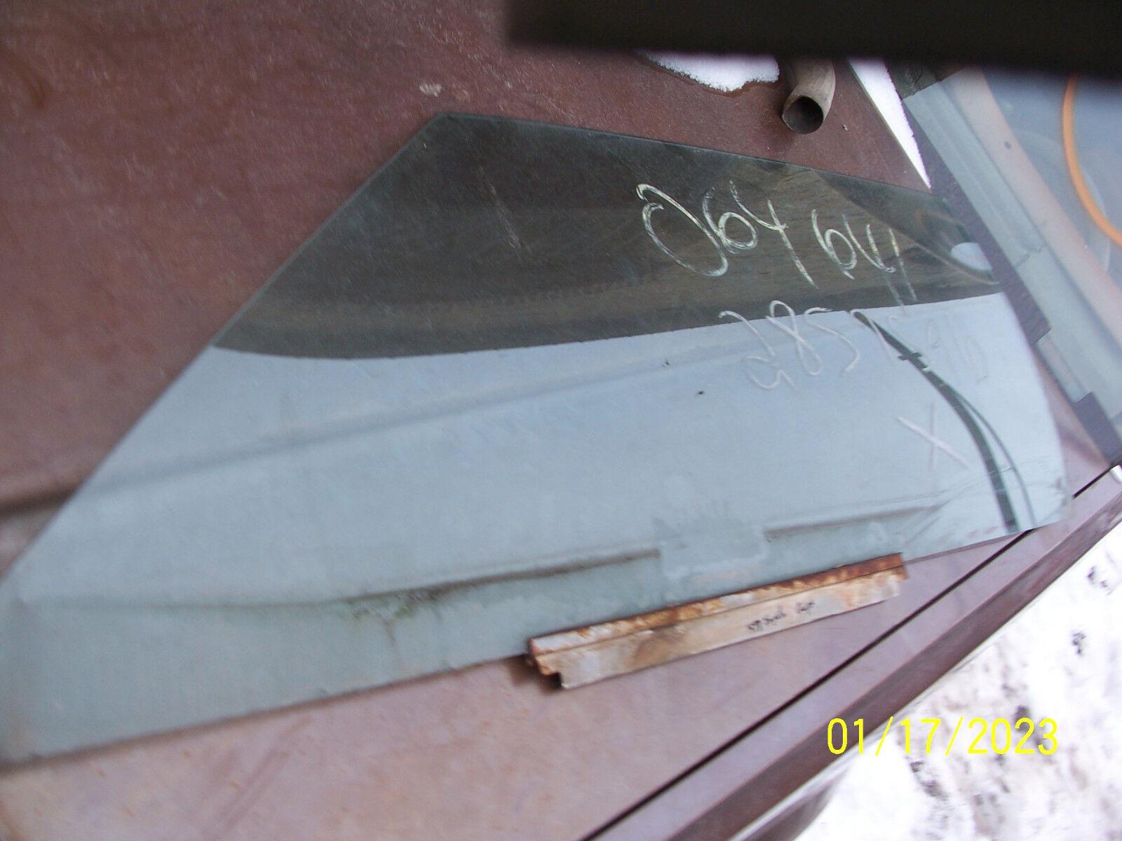 1978 1977 RIVIERA IMPALA COUPE OLDS 98 88 CATALINA LEFT DOOR WINDOW GLASS