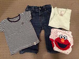 Bundle of five size 0 baby clothes Werrington Penrith Area Preview