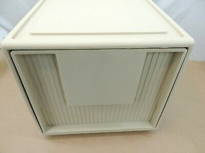 Vintage Retro Heavy Duty Plastic Filing Cabinet Drawer