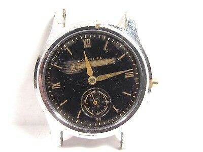 Vintage LONGINES 17 Jewel Men's Mechanical Wind Wrist Watch 10 L repair