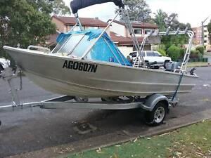 Fishing Aluminum Boat 4.7 m FOR SALE