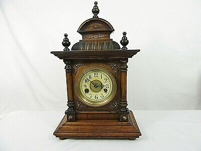 ANTIQUE Neo Classical Striking Bracket Clock