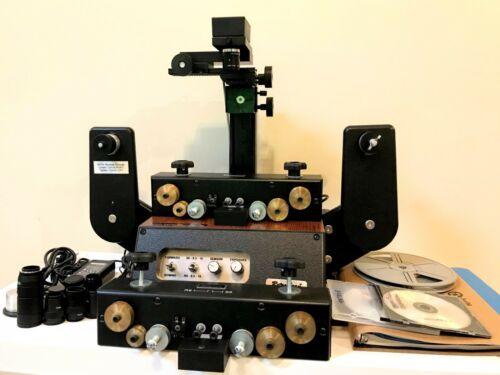 RetroScan Universal Mark I 8mm & 16mm Frame by Frame HD Film Scanner + Extras