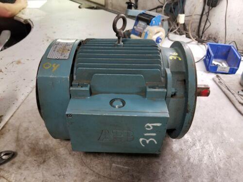 NEW ABB 3 HP ELECTRIC AC MOTOR 230/460 VAC 1755 RPM 182TC FRAME 3 PHASE