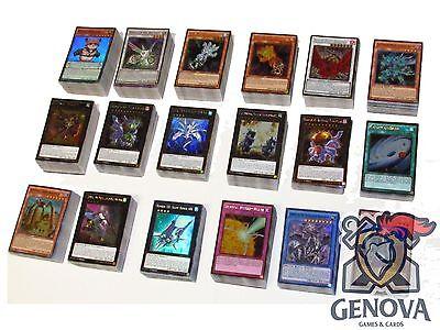 Yu-Gi-Oh! 100 Random Cards Lot guaranteed Foil Cards!!!