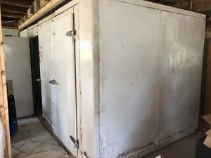 Walk-in Fridge/Freezer Unit 8'x16'