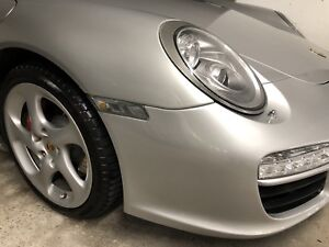 Porsche OEM turbo twists winter wheels and tires