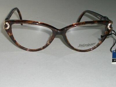 YVES SAINT LAURENT 5006 Y506 55[]16 135 TORTOISE CATS EYE EYEGLASSES FRAMES NEW