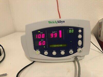 Welch Allyn Vital Signs Monitor 300 Series 53xxx Nibp Spo2 Temp Patient Ready