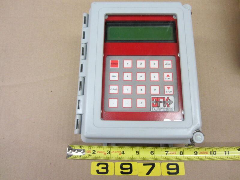 BFK TECHNOLOGIES TA 75 TA75 DISPLAY  NO SOFTWARE