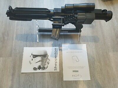 Star Wars  E11 Stormtrooper Blaster. S.D.S. Genuine Collector's Edition. Superb!