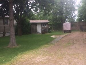 Premium lot in Pine Lake Campground, Bayfield
