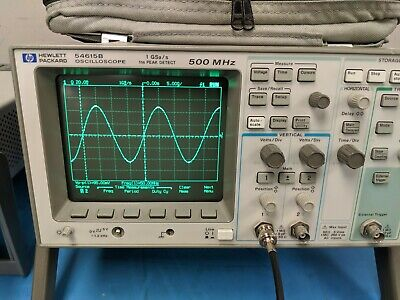 Agilent Hp 54615b - 500mhz Oscilloscope 2 Channel
