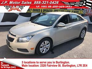 2012 Chevrolet Cruze LT Turbo, Automatic, Power Group,
