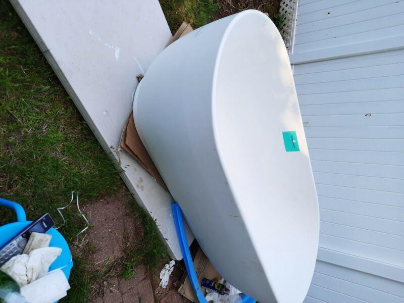 duravit white free standing soaking tub