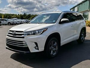 2017 Toyota Highlander Limited TOYOTA SAFETY SENSE/CAPTAIN'S...