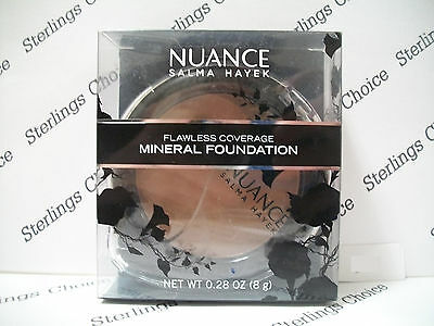 Nuance Salma Hayek Flawless Coverage Mineral Foundation #240 Deep