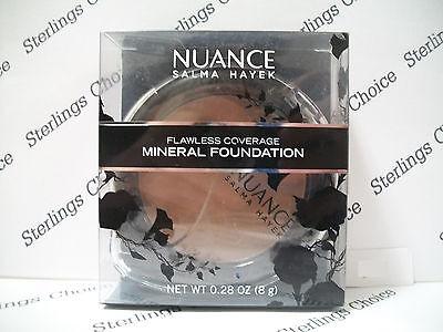 Nuance Salma Hayek Flawless Coverage Mineral Foundation #240 Deep