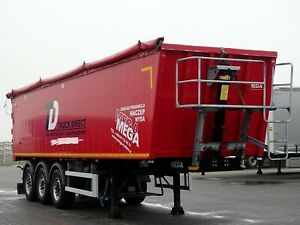 MEGA TIPPER 46 M3 / LIFTED AXLE / FLAP-DOORS /