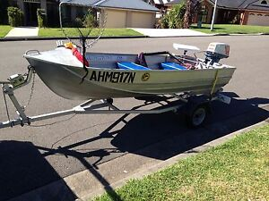 SWAP / $1800 tinny 12ft ( boat ) / Suzuki / trailer Rutherford Maitland Area Preview