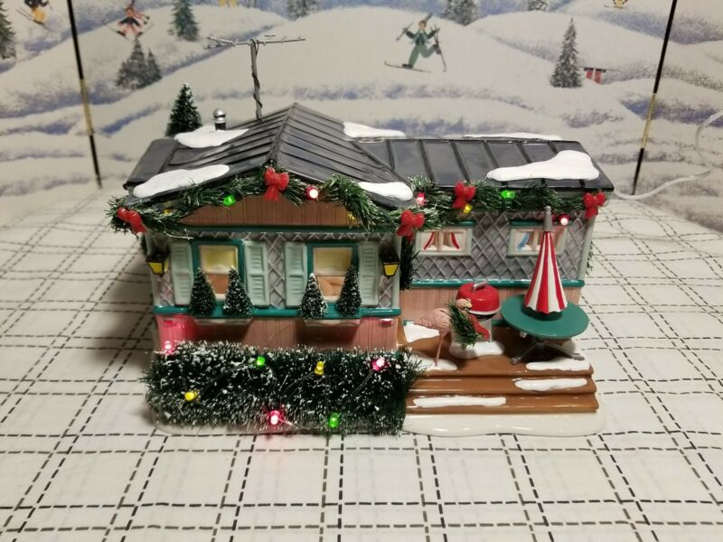 Department 56 Snow Village RETIRED Lot 57 Christmas Court 799929 Flamingo