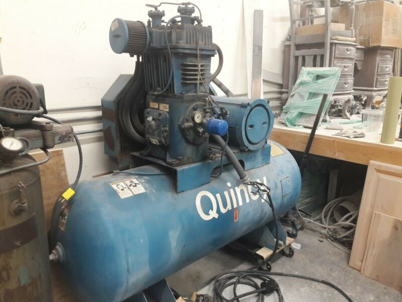Quincy  not (Curtis)15hp  air compressor