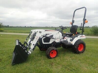 New 2020 Bobcat Ct1021 Compact Tractor W Fl6 Front Loader 4x4 Hydro 21 Hp