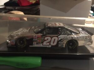 Platinum tony Stewart limited edition autographed die cast car