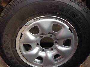"""Toyota Hilux Standard Rim and tyre 16"""" as new Fulham Gardens Charles Sturt Area Preview"""