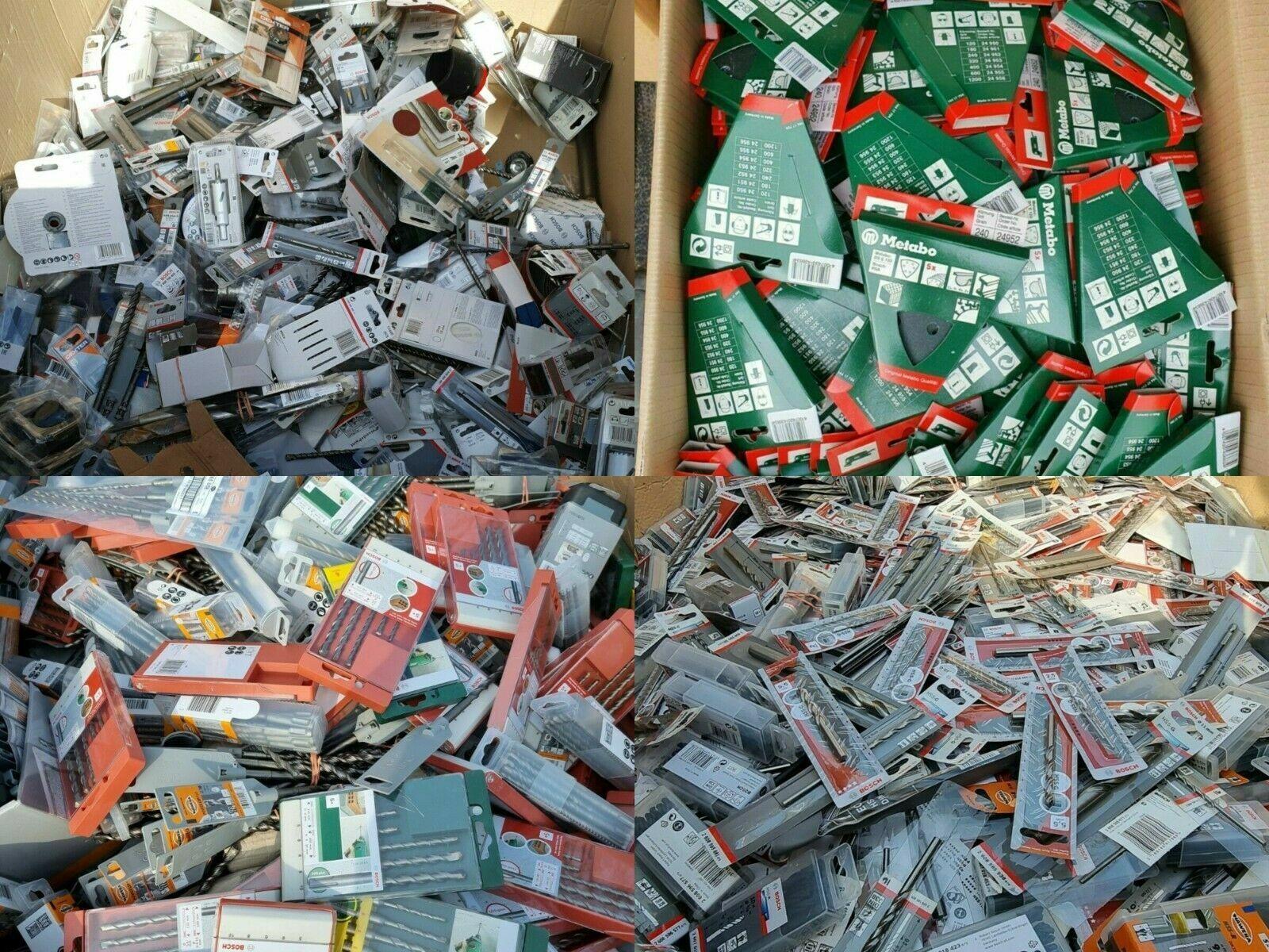 25 / 50 / 100 Teile Restposten Werkzeug Bosch Wolfcraft Baumarkt Sonderposten