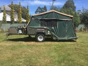 Campomatic Rear Fold Camper Trailer