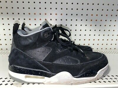 Nike Air Jordan Son Of Mars Low Mens Basketball Shoes Size 8 Black Gray White