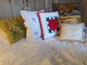 VINTAGE THROW PILLOWS!! $15-$25 each!!