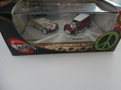 Hot Wheels 100% Collectibles Blood, Sweat, And Gears 2 Car Set - new 1/64