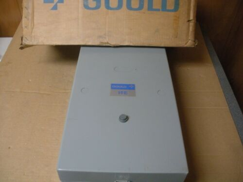 Gould ITE Magnetic Starter in Enclosure , A203E , Size 3, New In Box