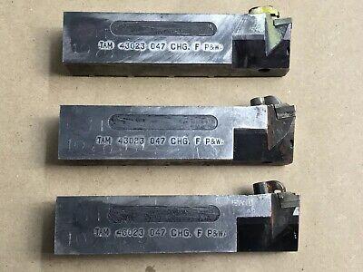 Kennametal Tool Holder Lot Tam 43023 047 Chg. F Pwa Lot Of 3
