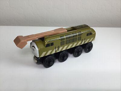 Thomas & Friends Wooden Railway Train Diesel 10 Engine Good Condition Ships Free