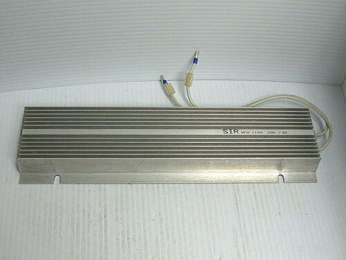 SIR RESISTOR RFH 1100 25R J 0202 - USED