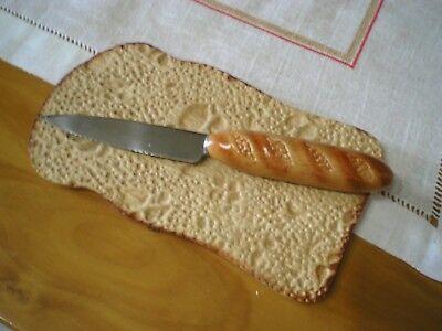 Originales tabla de cortar y cuchillo segunda mano  Cáceres